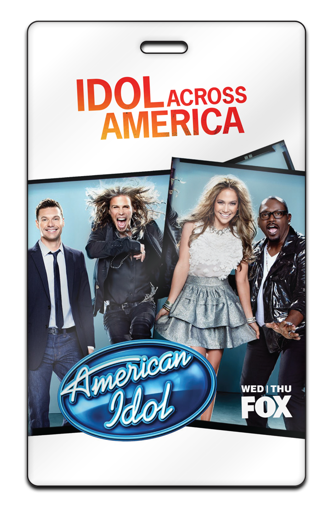 Live events custom promotional passes radio station conference american idol m4hsunfo